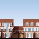 Semi-detached facades
