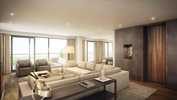 Wolterinck, design, luxerious, living, interior regent's park, amersfoort