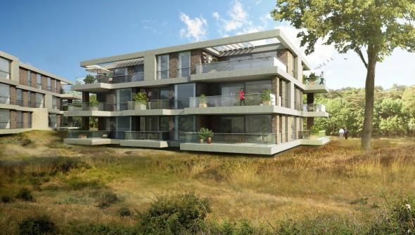Visual Works - Artist Impressie - Parkzicht - Park Brederode - Bloemendaal - Appartementen