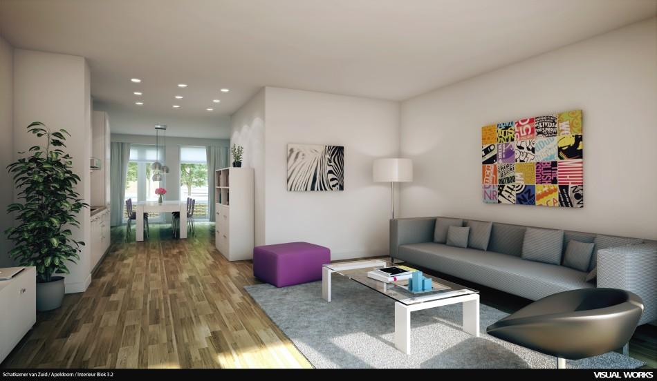 Schatkamer van zuid visual works - Interieur van amerikaans huis ...