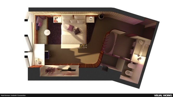 visual_worksartist_impression__HotelAmman_3dplattegrond_top